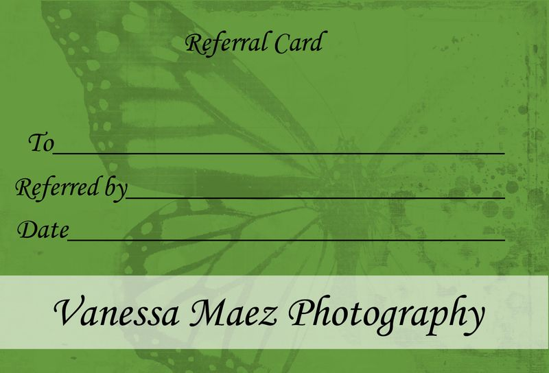 Referral card front
